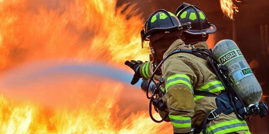 Rund 70 Feuerwehrleute bekämpften den Bäckereibrand.