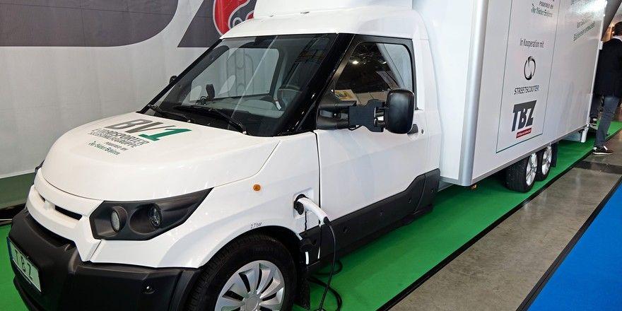 Auch schon auf der Südback in Stuttgart war E-Mobilität für Backbetriebe ein Thema.