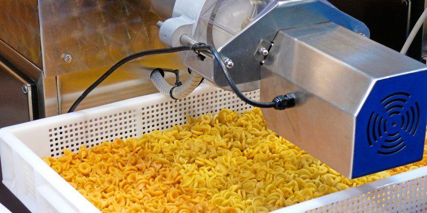 Nudeln werden überwiegend aus Hartweizen hergestellt.