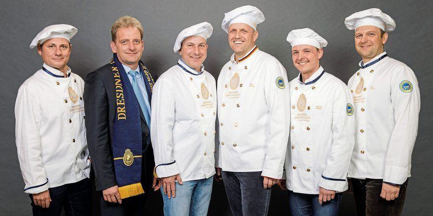 Mitglieder des neuen Vorstands (v.l.): Tino Gierig, Dirk Einert, Rico Uhlig, René Krause, Andreas Wippler, Ralf Ullrich.