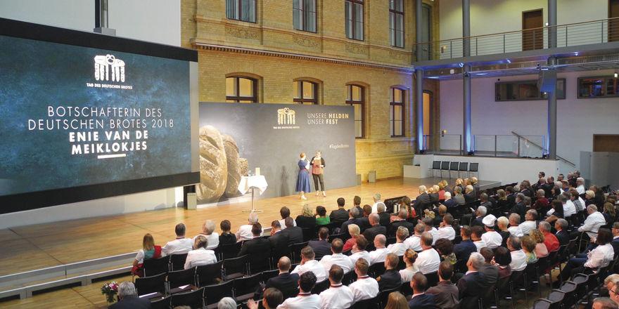 Festveranstaltung zum Tag des Deutschen Brotes am 15. Mai in Berlin.