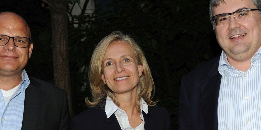 Die neuen Vorstandsmitglieder (von links) Gerrit Rosch (Dawn Foods Germany GmbH) und Dr. Thorid Klantschitsch (Jung Zeelandia GmbH)