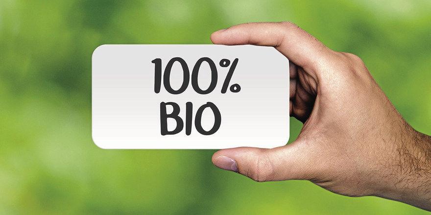 Nicht alles, was als Bio angeboten wird, ist auch bio.