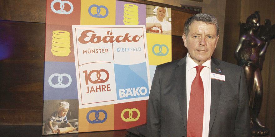 Ulrich Bücker legte den Geschäftsbericht im Jubiläumsjahr vor.