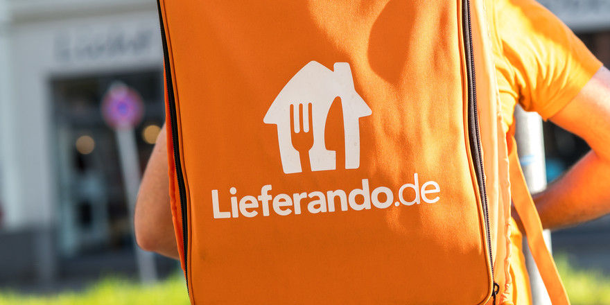 Deutschland lässt liefern: Beim Umsatz hat Lieferando kräftig zugelegt.