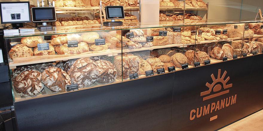 Augsburgs größte Brotauswahl: bis zu 70 Sorten Brot.