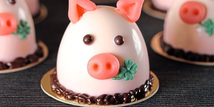 Kleiner Glücksbringer mit auf den Weg: das ABZ-Schweinchen.
