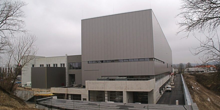Um- und Neubau am Produktionsstandort Gunskirchen.