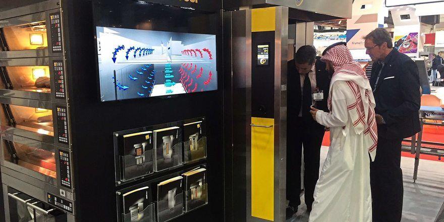 2018 war Miwe auf der Fachmesse Gulfood Manufacturing in Dubai vertreten.