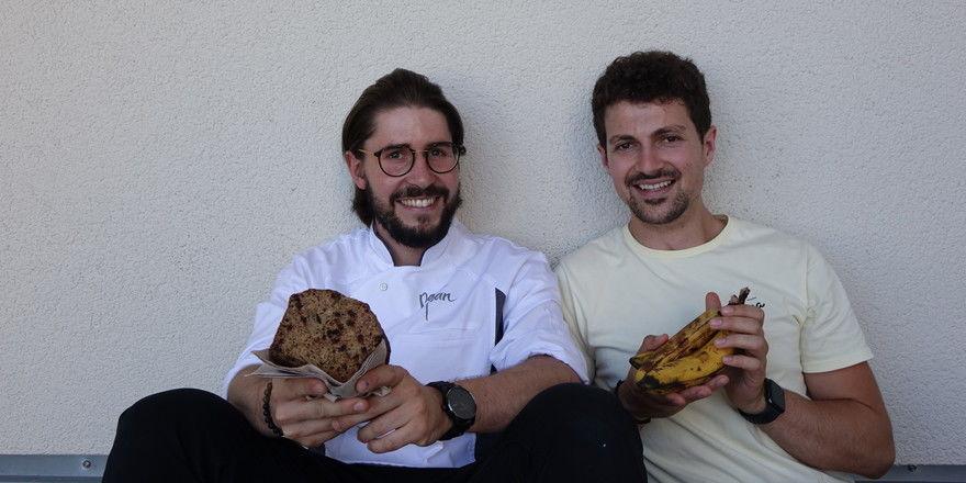 Kooperationspartner in Sachen Bananenbrot (von links): Raphael Kraus und Niclas Friedrichs.
