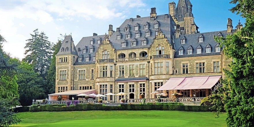 Die Gewinnertorte wird zukünftig unter anderem im prunkvollen Schlosshotel Kronberg serviert.