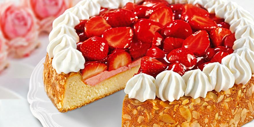 Im Vergleich mit Tiefkühlkuchen zog der Erdbeerkuchen einer Bäckerei den Kürzeren.