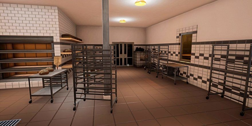Fast wie echt: die Bäckerei aus dem Rechner.