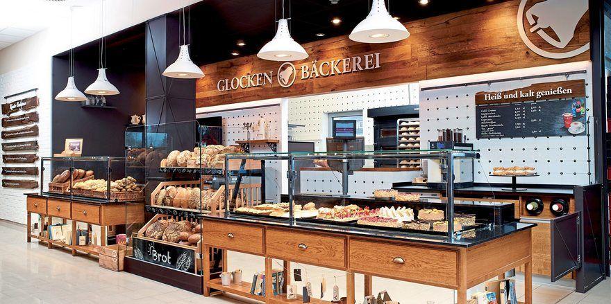 Die Filialen der Glockenbrot Bäckerei werden künftig nicht mehr in der Vorkassenzone von Rewe zu finden sein.