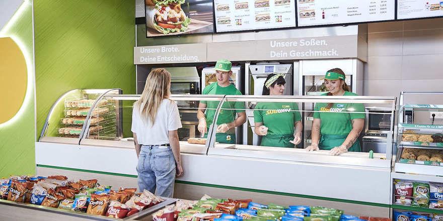 Einer von knapp 700 Standorten der Sandwichkette, die seit 20 Jahren in Deutschland expandiert.