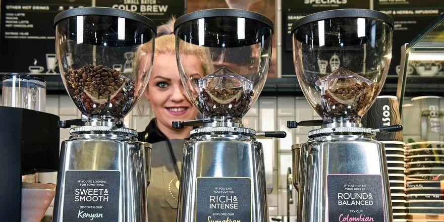 Costa Coffee aus London ist Europas Kaffeebar-Champion.