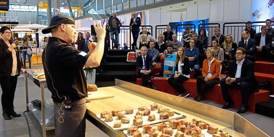 Fach-Informationen aus erster Hand gibt auf dem Trend-Forum der Bäcker.