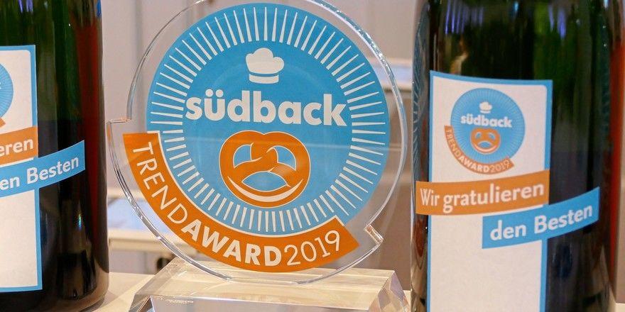 Die Gewinner des Südback Trend Awards werden auf der Messe mit der begehrten Auszeichnung geehrt.