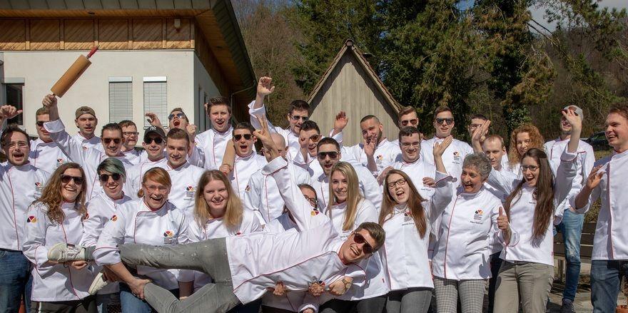 Eines von vielen Angeboten: Absolventen eines Meisterkurses in Weinheim.
