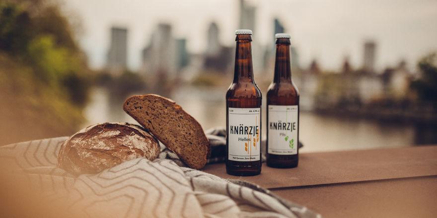 Als Helles und Pils: das Brotbier.