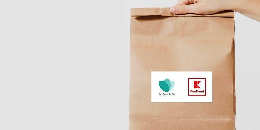 """Kaufland startet Zusammenarbeit mit der Lebensmittelretter-App """"Too Good To Go""""."""