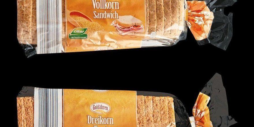 Diese zwei Toastbrotsorten könnten Hartplastiksplitter enthalten.