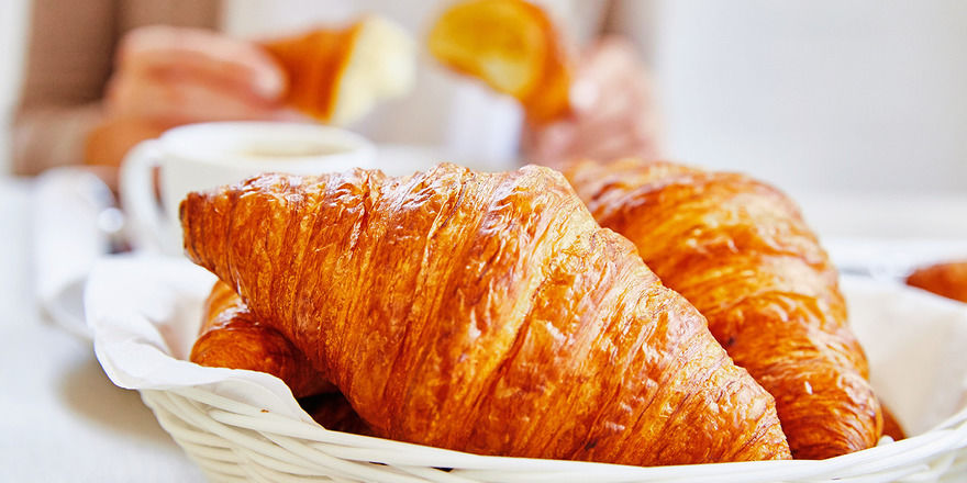 Tiefkühlbackwaren wie Croissants gehören zum Kerngeschäft von Vandemoortele.