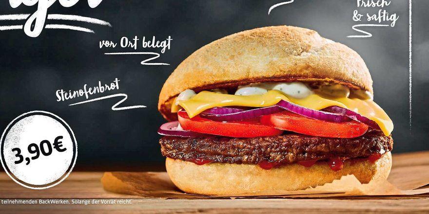 100.000 Stück in kurzer Zeit: Burger von Backwerk.