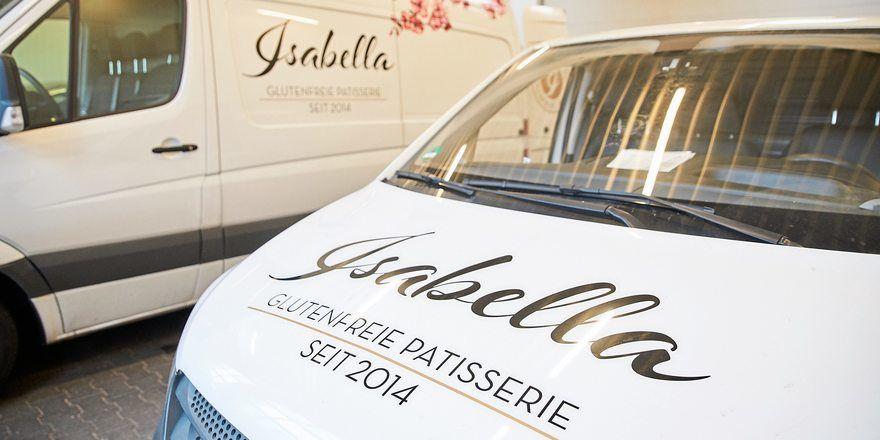 Bei der Patisserie Isabella sind in der Krise die Lieferfahrzeuge verstärkt im Einsatz.