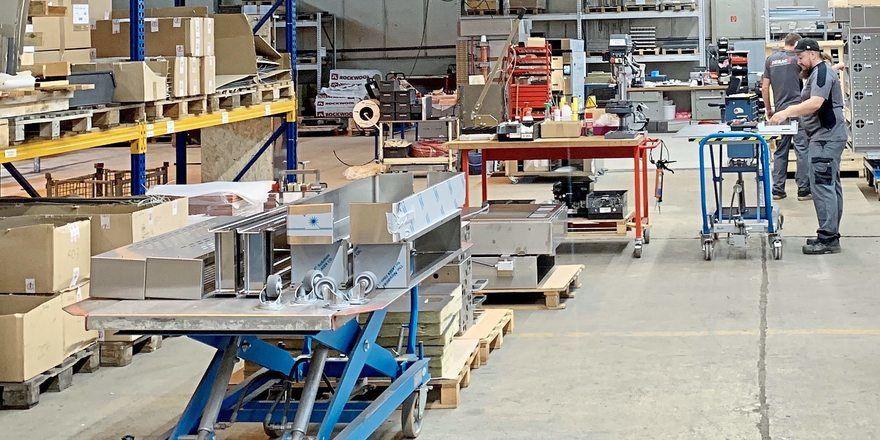 Blick in die Produktion am Standort Königsbrück.