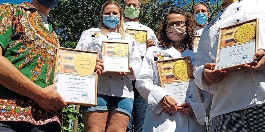 Die Teilnehmer des Olper Backwarendesignpreises.