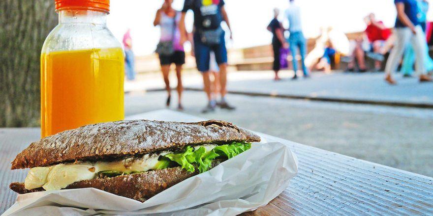 Das Sandwich to go erfreut sich trotz Coronakrise wachsender Beliebtheit.