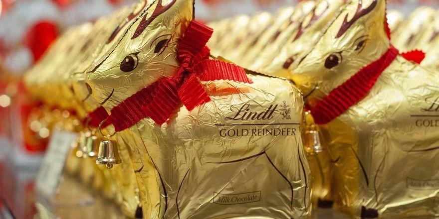 Beschäftigt Gerichte: die goldene Verpackung von Lindt, die es auch für Rentiere gibt.
