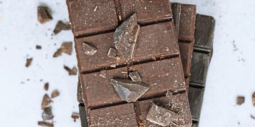 Die Milchschokolade der US-amerikanischen Forscher soll genauso gesund sein wie dunklere Sorten.
