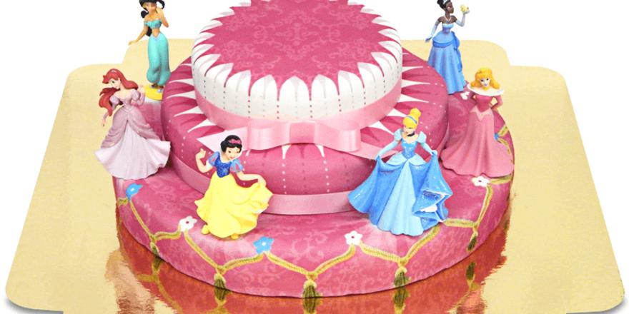 Leicht zu erkennen: Prinzessinnen-Torte nennt deineTorte.de dieses Produkt.