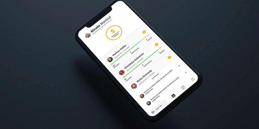 Mit der App kann das Berichtsheft komplett digital geführt werden.
