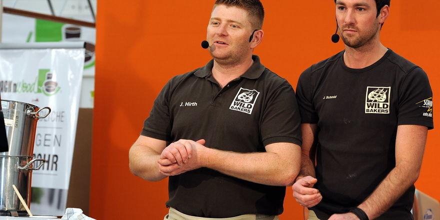 Lustig und kreativ: Johannes Hirth (links) und Jörg Schmid haben die Lacher auf ihrer Seite.