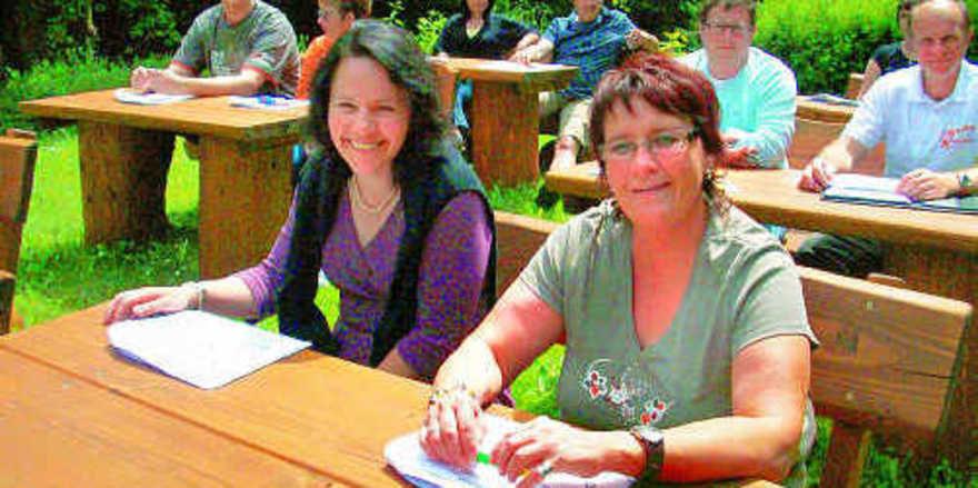 Den Wald-Seminarraum haben Teilnehmer eines Kommunikationstrainings erstmals genutzt.