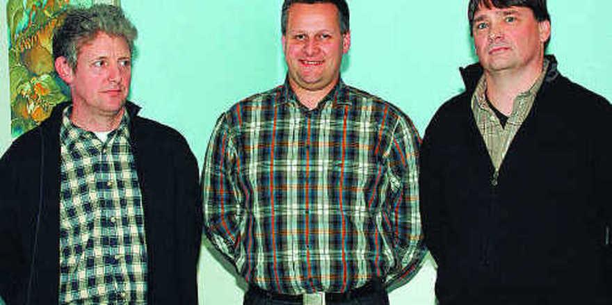 Die neu Gewählten der Innung Limburg-Weilburg (von rechts): Christof Hunsänger, Peter Krekel und Michael Sabel.