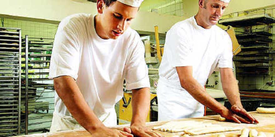 Angestellte Bäcker in Nordrhein-Westfalen können sich seit 1. Oktober 2008 über eine Lohnerhöhung von 4,1 Prozent freuen.