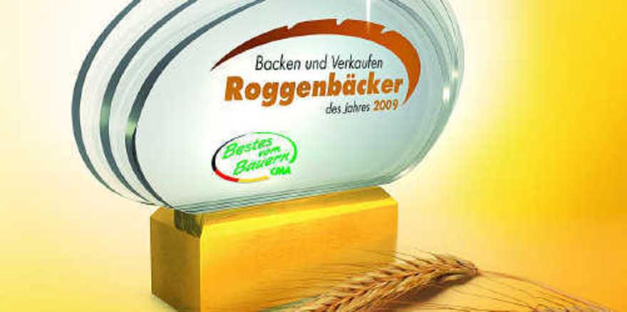 """Der Award zum """"Roggenbäcker des Jahres 2009"""" ist mit einem Preisgeld von 2500 Euro verbunden."""