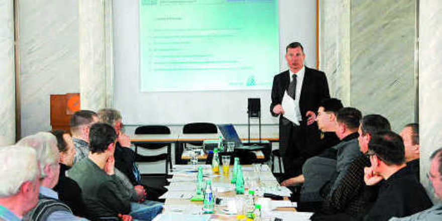 Ben Hartmann, Geschäftsführender Vorstand der Bäko Süd-Mitteldeutschland und künftiger Kopf der neuen Bäko Mitteldeutschland, informierte Anfang März die Mitglieder der BI Leipzig über die Fusionspläne.