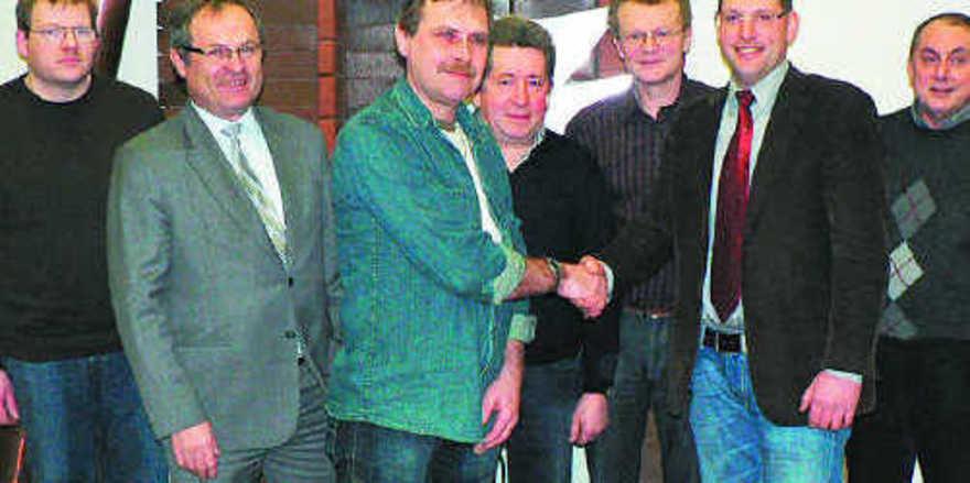 Der Vorstand der neuen Bäckerinnung Erlangen-Hersbruck (von links): Gerald Hußnätter, Siegfried Beck, Horst Buberl, Hubert Galster, Harald Böhm, Jochen Meyer und Werner Fumy.