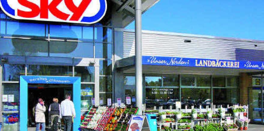 Neu im Norden: Die Konsumgenossenschaft Coop eG betreibt in den Vorkassenzonen von Sky-Verbrauchermärkten eigene Bäckereien.