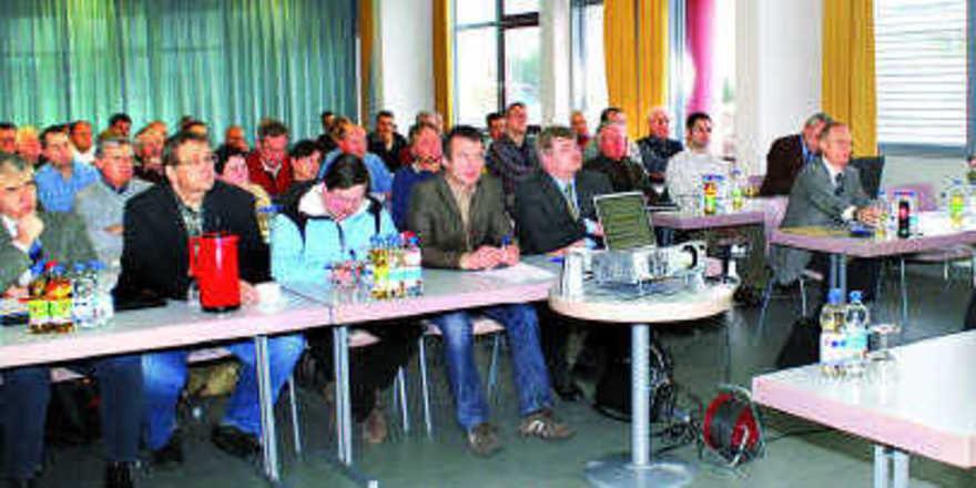 Die Regionalversammlung des Landesinnungsverbandes Württemberg in Öhringen war gut besucht.