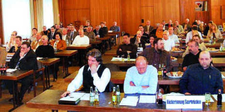 Auf dem Delegiertentag des BIV Saarland wurde nochmals erläutert, dass die Bildung einer Landesinnung ab 2010 als Konsequenz aus den Betriebsrückgängen sinnvoll ist.