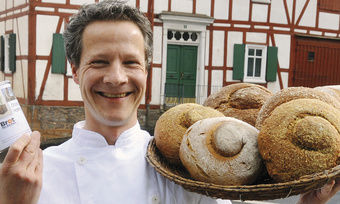 Einer der Akteure: Bäckermeister Dirk Weber aus Lichtenfels-Sachsenberg in Hessen.