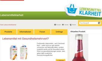 Bisher sind 7000 Produktmeldungen über das Onlineportal Lebensmittelklarheit.de gemeldet worden.