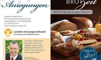 """Für die Aktion """"Jeden Abend ist Brotzeit"""" gibt es einen Info-Folder und attraktive Werbemittel."""