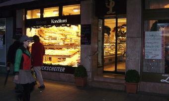 Wenn in einer Bäckerei der Strom weg ist, stehen alle Räder still.